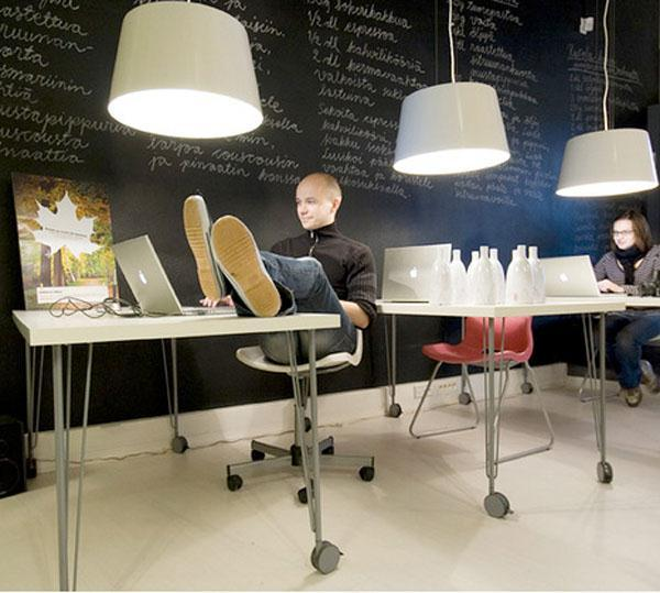 12 cool ideas to having a cool office office furniture for Cool office interiors
